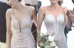 Fahriye_Evcen_Neslihan_Atagul_wedding_dress_similarity