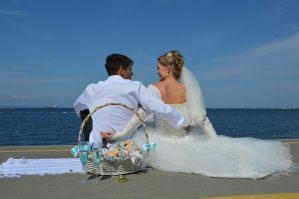 Poroka ob morju